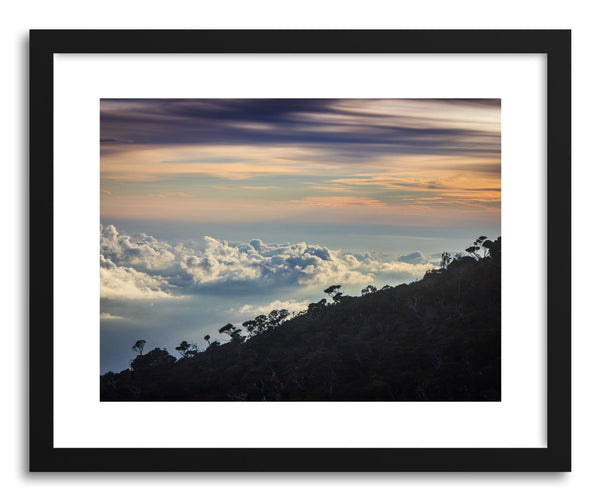 Fine art print Mountain Clouds by artist Wes Lewis