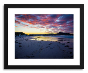 hide - Art print Lucky Bay Morning by artist Wes Lewis on fine art paper