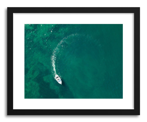 Fine art print Boat Circle by artist Wes Lewis