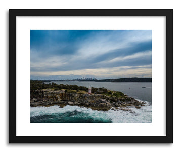 Fine art print Sydney Harbour Lighthouse by artist Wes Lewis