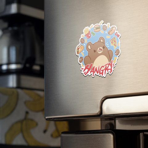Hangry Bear Magnet