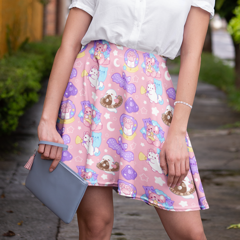 Pastel Paranormal Nuggets Skirt