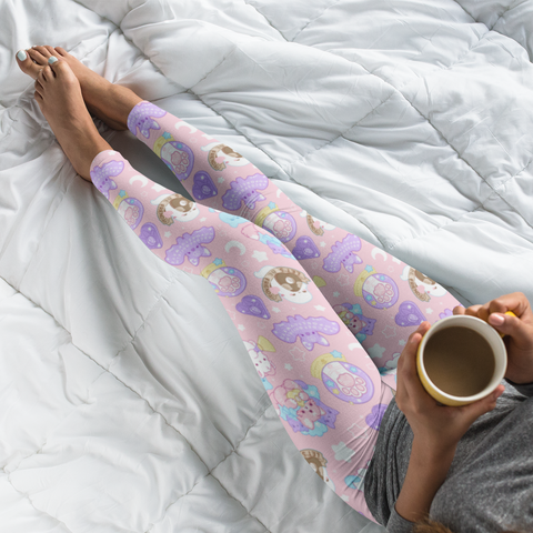 Pastel Paranormal Nuggets Leggings