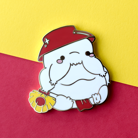 V1 OLD Radish Spirit Enamel Pin