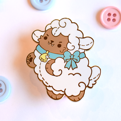 Wolf in Sheeps Clothing Enamel Pin