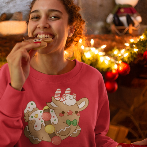 Gingerbread Rudolph Sweatshirt