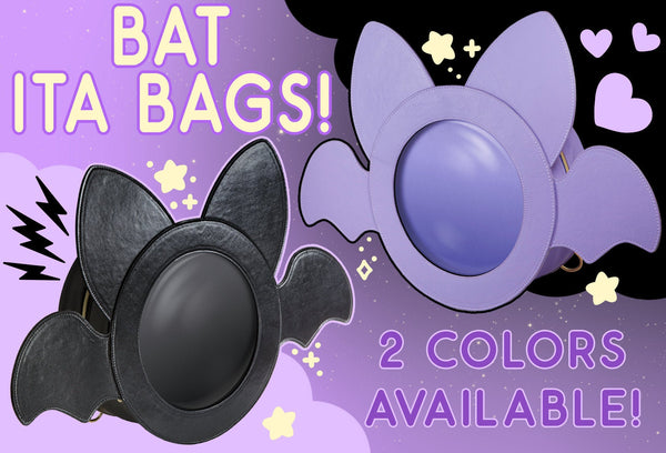 Bat Ita Bag - Pin Display Backpack & Purse