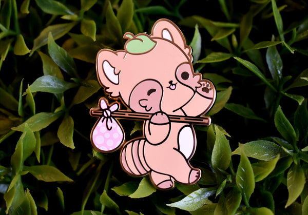 Maple the Tanuki - Adventure - Enamel Pin