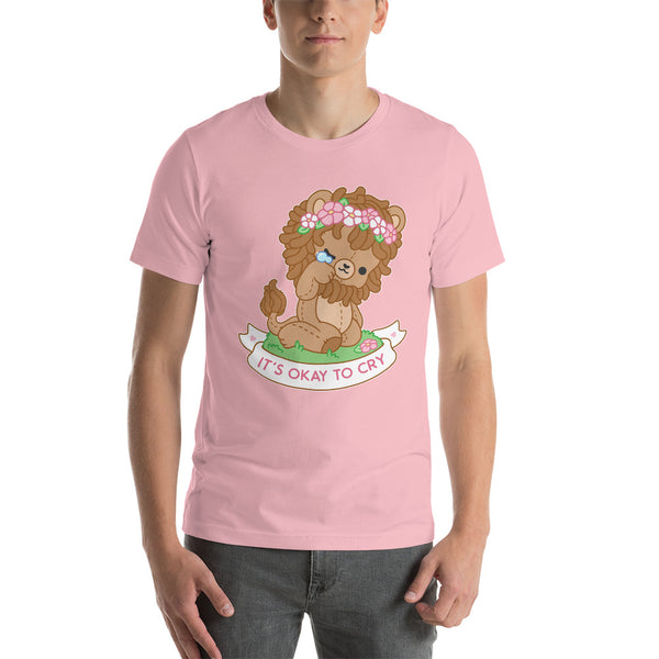 It's Okay To Cry Lion TShirt