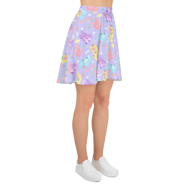Pastel Werewolves Skirt