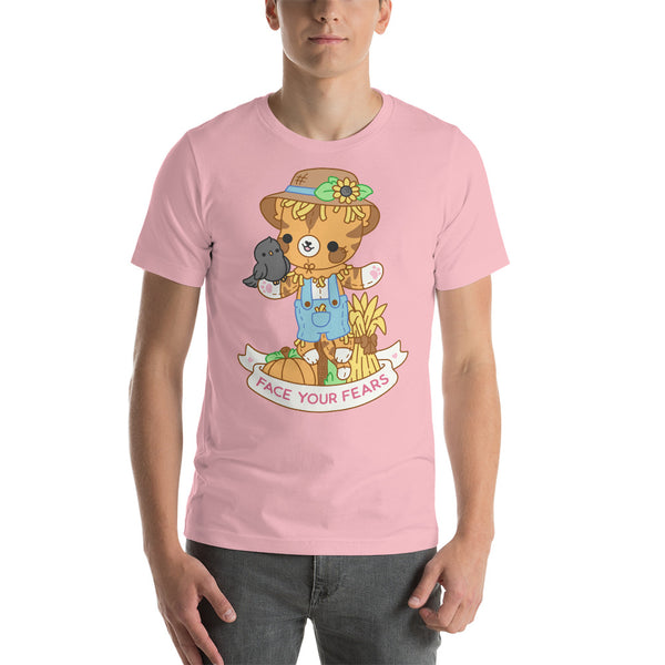 Face Your Fears Scarecrow Cat TShirt
