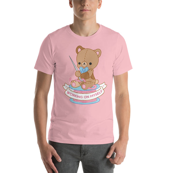 Working on Myself Teddy Bear TShirt