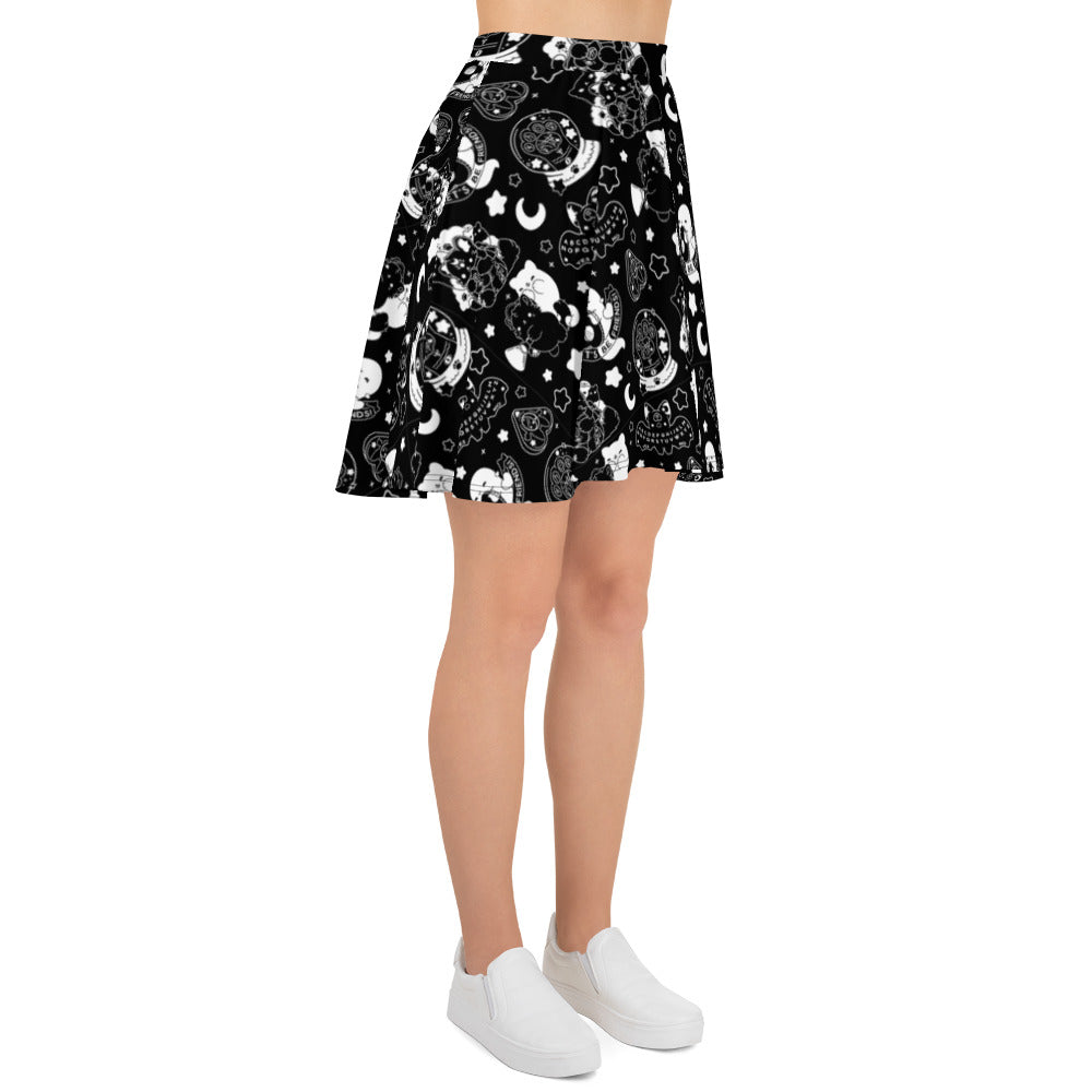Black Paranormal Nuggets Skirt