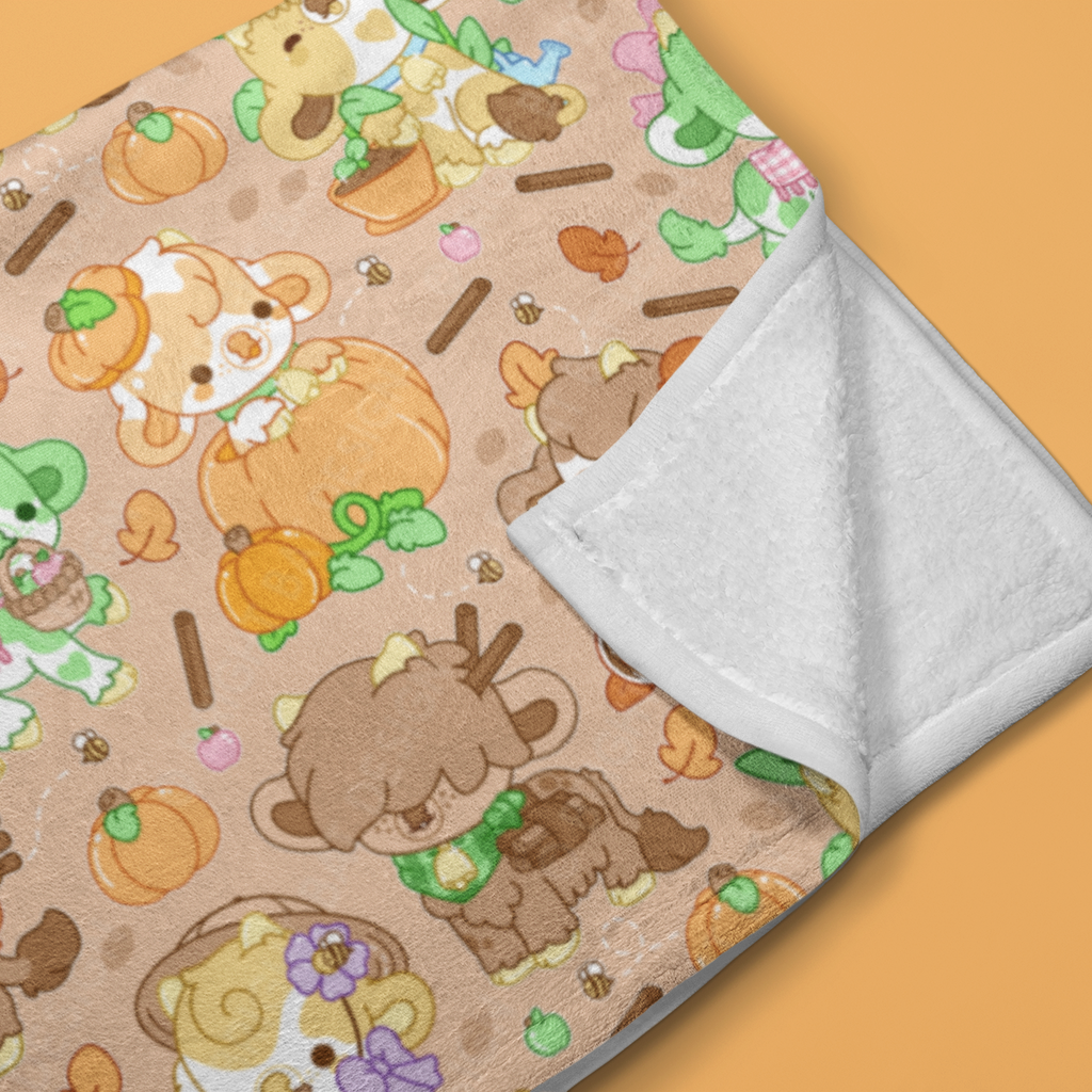 Pastel Werewolves Soft Throw Blanket