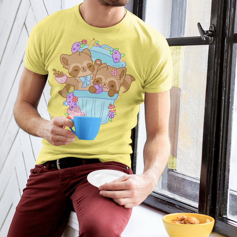 Trash Can Tea Party TShirt