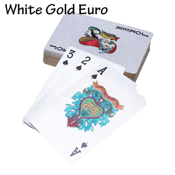 24K Gold Foil Waterproof Playing Card