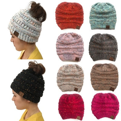 The Ponytail Beanies Knit, CC®