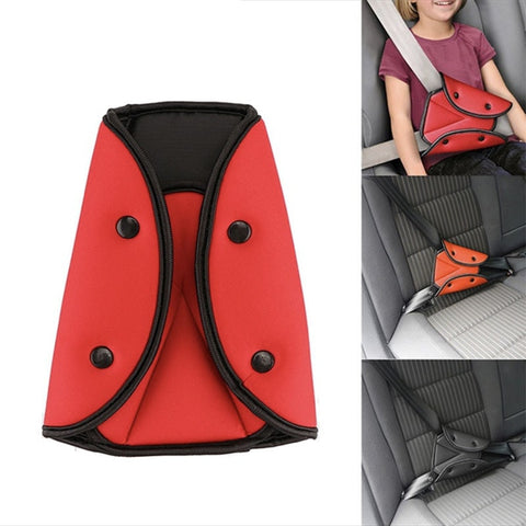 The Multi-Size Seat Belt Adjuster for Children and Young Adults