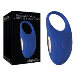 Adam & Eve Rechargeable Couples Penis Ring