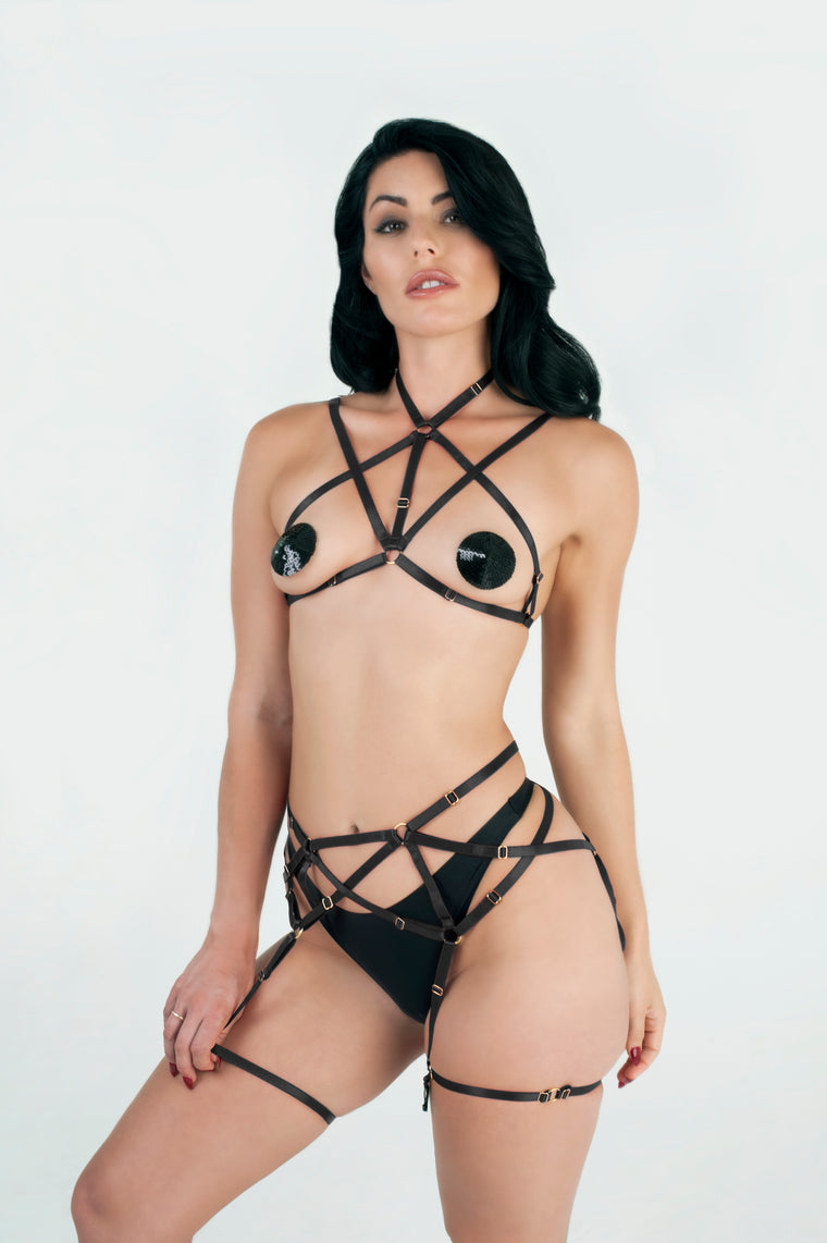Two Piece Elastic Body Cage Set