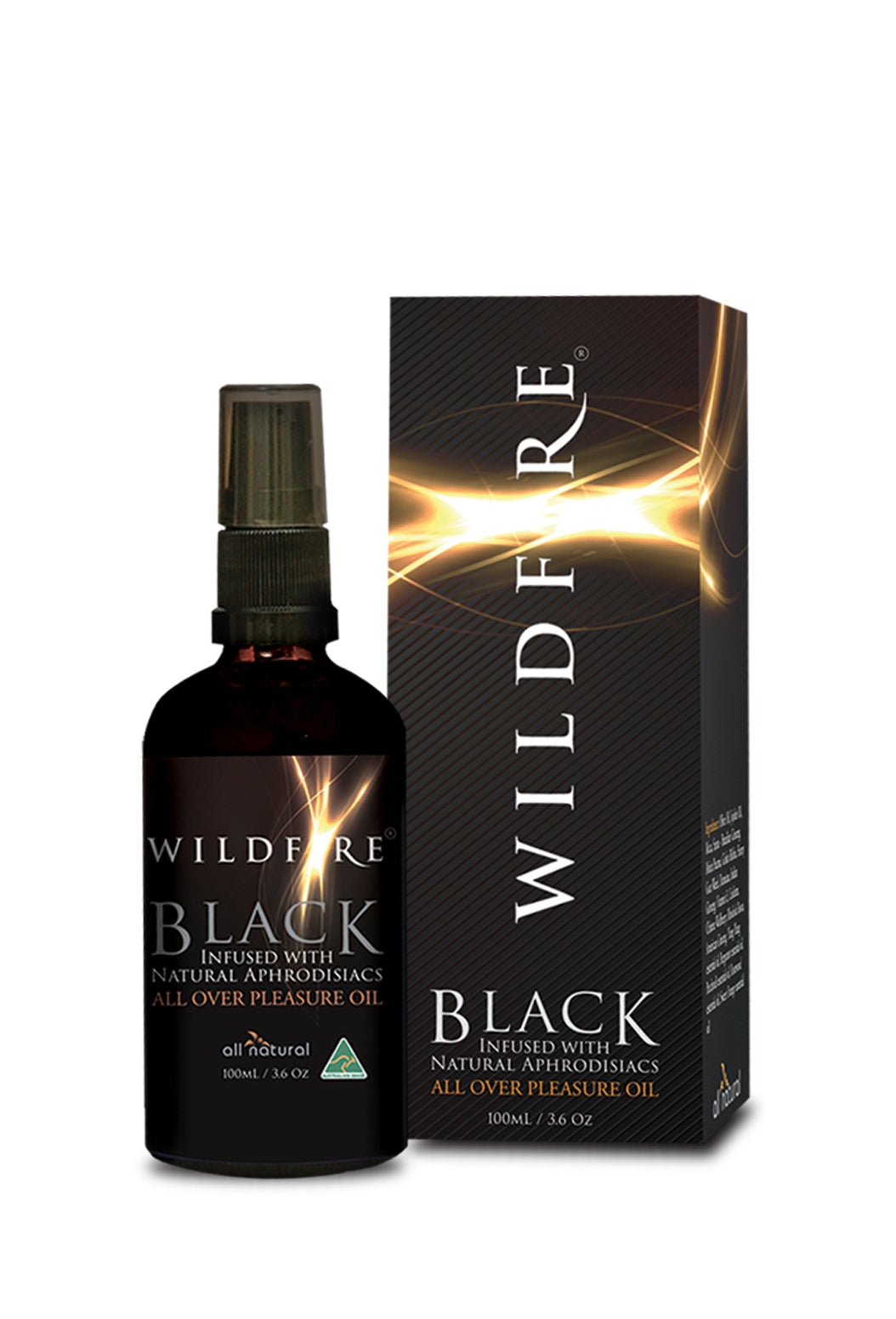 Wildfire Black All Over Pleasure Oil