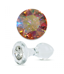 Aurora Borealis Crystal Delight Plug (various sizes)