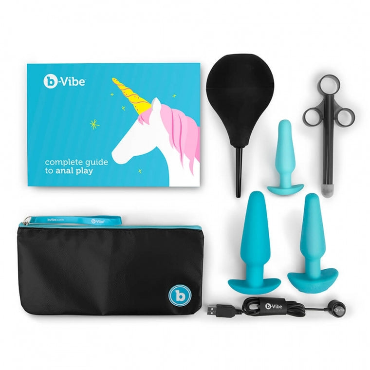 b-Vibe Anal Training 7 Piece Education Set