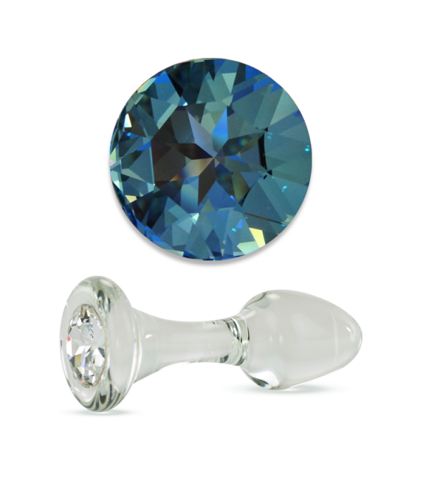 Blue Crystal Delight Plug (various sizes)