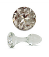 Clear Crystal Delight Plug (various sizes)