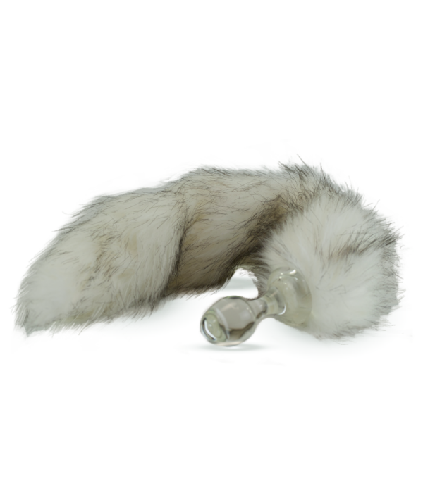 Crystal Minx Detachable Faux Husky Tail Plug