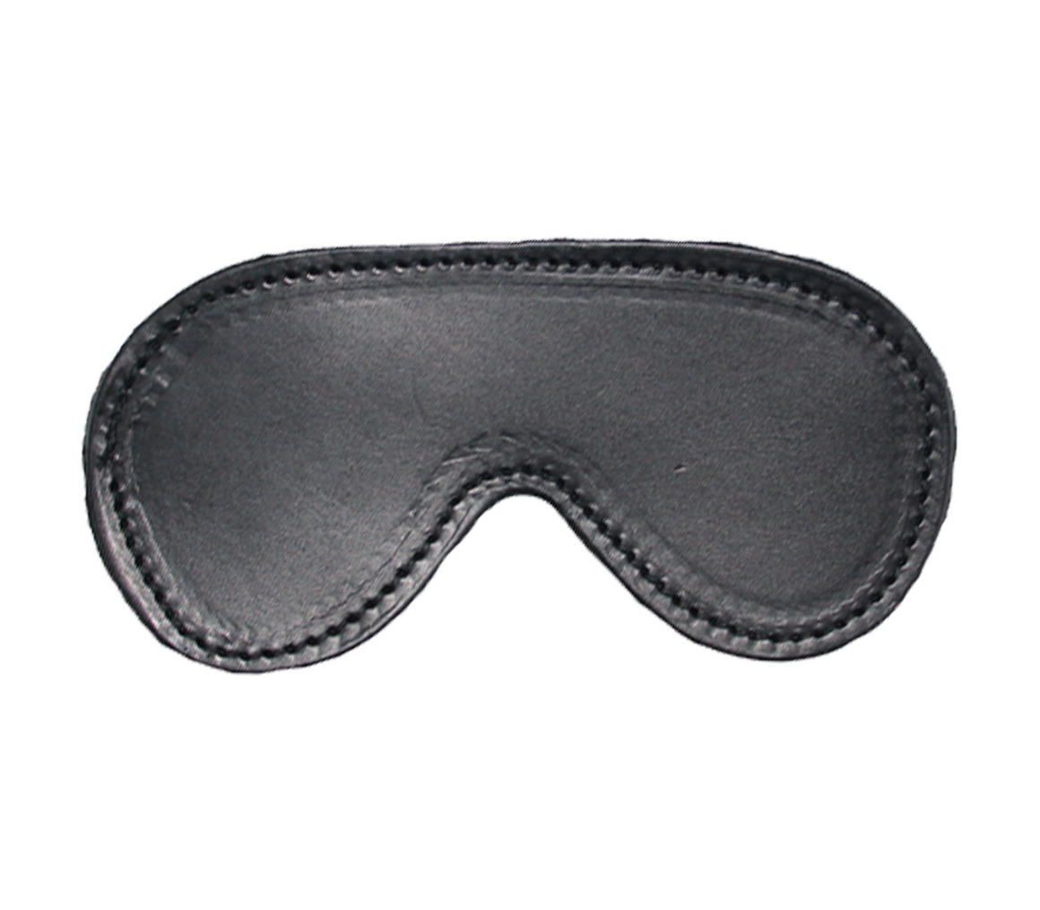 Lined Leather Blindfold
