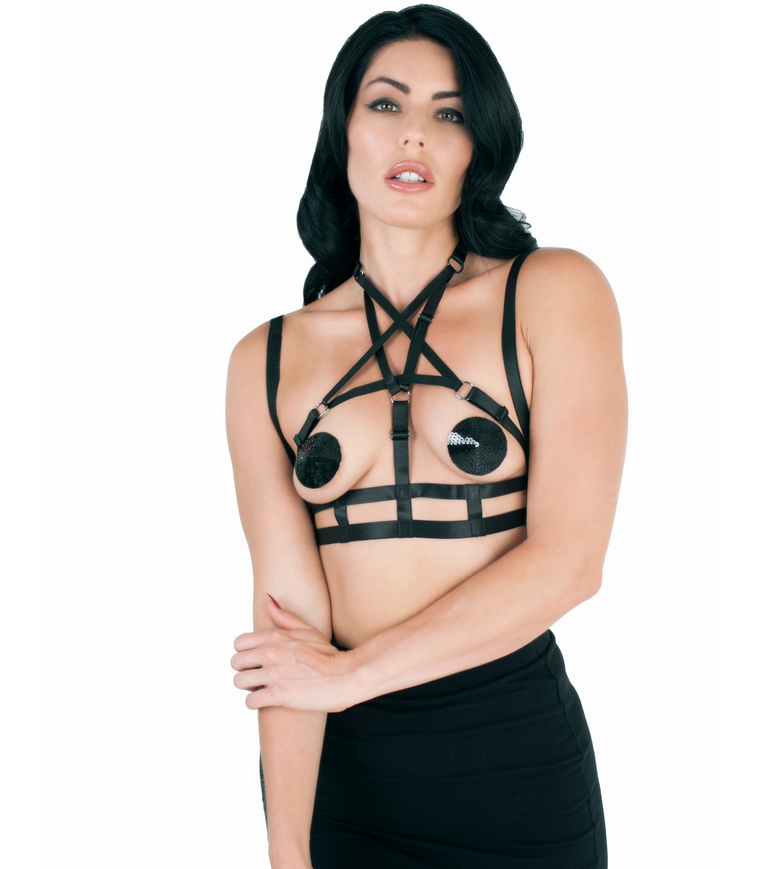Pentagram Bra Harness