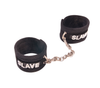Love In Leather Soft Diamante Cuffs - Various Words