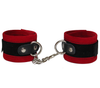 Love In Leather Velveteen Wrist Restraints
