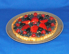 Raspberry Chocolate Mixed Berry Tart