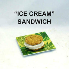 Load image into Gallery viewer, Apple Rum Raisin Ice Cream Sandwich Summer