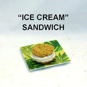 Apple Rum Raisin Ice Cream Sandwich Summer