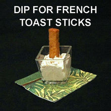 Load image into Gallery viewer, Apple Rum Raisin Dip for French toast sticks Summer