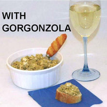 Load image into Gallery viewer, Artichoke Tapende with Gorgonzola Cheese and white wine