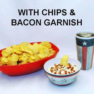 Bacon Praline Dip with Chips July 4th