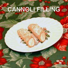 Load image into Gallery viewer, Bananas Foster Mousse filled cannoli Christmas