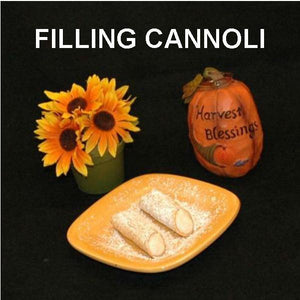 Bananas Foster Mousse filled cannoli Fall
