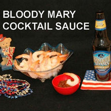 Load image into Gallery viewer, Shrimp with Bloody Mary Cocktail Sauce and summer ale July 4th