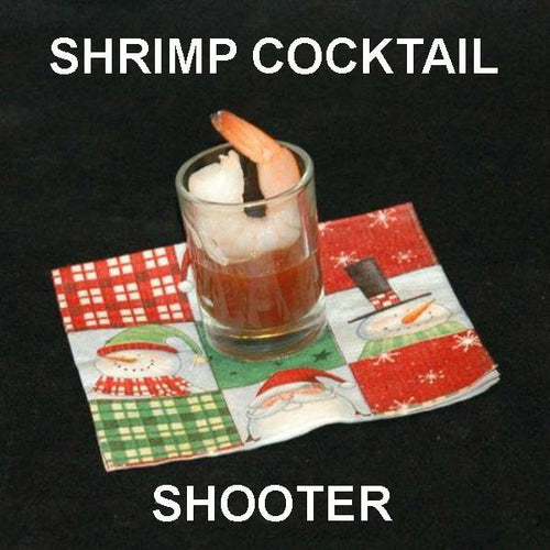 Bloody Mary Shrimp Cocktail Shooters Christmas