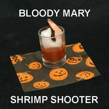 Load image into Gallery viewer, Halloween Bloody Mary Shrimp Cocktail Shooters