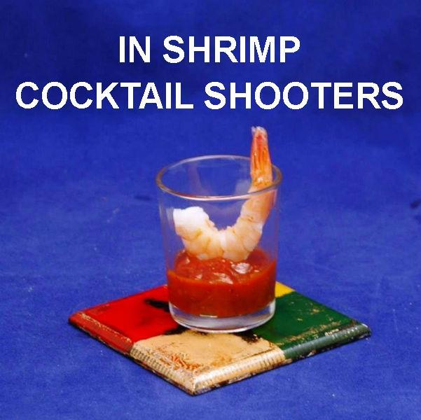 Bloody Mary Shrimp Cocktail Shooter