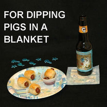 Load image into Gallery viewer, Pigs In A Blanket with Bloody Mary Spicy Ketchup for dipping Summer