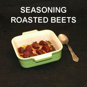 Bombay Roasted Beets side dish