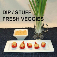 Load image into Gallery viewer, Caliente Cheddar Dip Stuffed Red Pepper Bites
