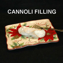 Load image into Gallery viewer, Caramel Pecan Mousse filled cannoli Christmas